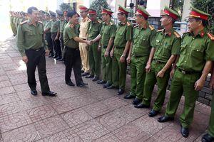 Thứ trưởng Bộ CA Nguyễn Văn Sơn kiểm tra công tác tại CA tỉnh Đắc Nông