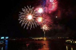 Bắn pháo hoa kỷ niệm 320 năm Biên Hòa - Đồng Nai