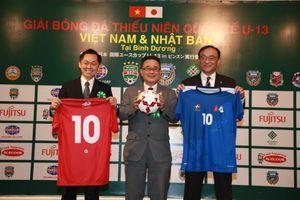 Các cầu thủ nhí Việt Nam so tài cùng đối thủ Nhật Bản