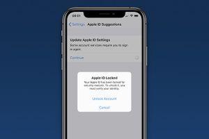 Một số người dùng bị khóa Apple ID, yêu cầu đặt lại mật khẩu