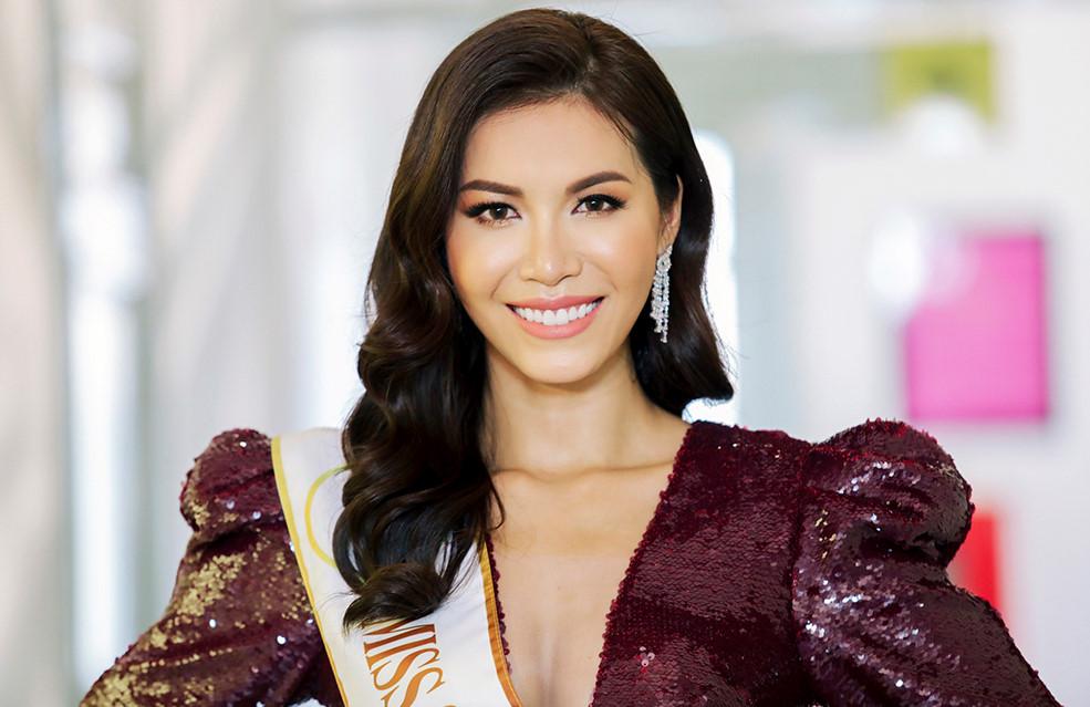 Minh Tú tự tin nói tiếng Anh trong clip giới thiệu 'Miss Supranational 2018'