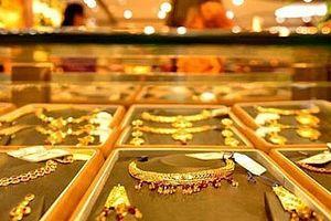 Giá vàng trong nước tăng nhẹ so với phiên trước