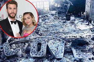Biệt thự triệu đô của Miley Cyrus hoang tàn sau cháy rừng khủng khiếp