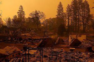 Tận thấy thảm kịch cháy rừng khủng khiếp nhất lịch sử California