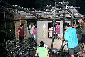 Bé gái bại liệt bẩm sinh tử vong trong căn nhà cháy ở Cà Mau
