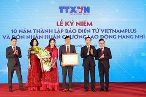 Báo điện tử VietnamPlus kỷ niệm 10 năm thành lập