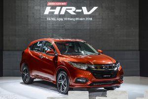 Honda HR-V bán 740 xe, vượt Hyundai Kona, Ford EcoSport trong tháng 10/2018