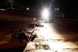 2 xe máy va chạm trong đêm, 3 người tử vong