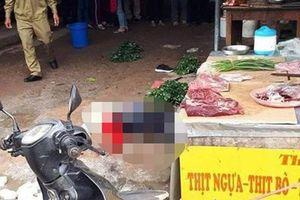 Thông tin mới nhất về vụ nổ súng sát hại cô gái tại chợ Bến Tắm