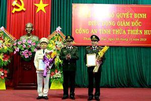 Quyết định điều động Giám đốc Công an tỉnh Thừa Thiên Huế
