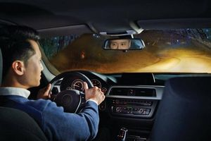 Kinh nghiệm lái xe ban đêm không có đèn đường