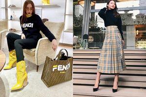 Ngoài Gucci thì đây là 2 thương hiệu thời trang đang 'mê hoặc' các mỹ nhân Việt