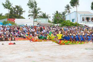 Sóc Trăng: Sẵn sàng cho lễ hội đua ghe Ngo