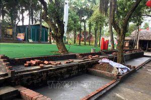 Tháo dỡ công trình vi phạm quy hoạch Khu Di tích lịch sử đặc biệt Đền Hùng