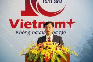 VietnamPlus trở thành báo điện tử đầu tiên dùng chatbot để kết nối với độc giả