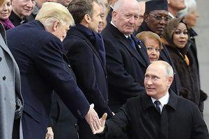 Tổng thống Putin và Trump đã trao đổi gì trong ngày kỷ niệm Thế Chiến I