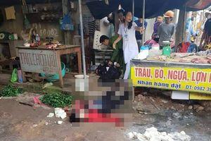 Người phụ nữ bị bắn chết khi đang bán hàng tại chợ