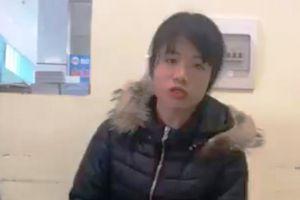 Thiếu nữ cả gan gói gạch đá giả Iphone 6 gửi khách mua online