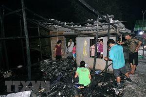 Căn nhà gỗ cháy rụi khiến bé gái 11 tuổi tử vong thương tâm