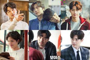 7 nam diễn viên Hàn Quốc 'đẹp hơn hoa' với kiểu tóc 'bổ luống'