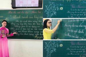 Trào lưu viết chữ đẹp đã thành bão toàn quốc: Lại xuất hiện thêm nhiều cô giáo có nét bút đẹp mê hồn