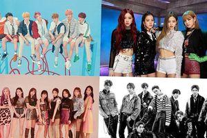 Melon Music Awards 2018 lộ diện top 10: Idol của những fandom mạnh mẽ nhất được gọi tên