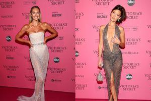 'Hoa mắt chóng mặt' khi dàn thiên thần Victoria's Secret mặc đồ xuyên thấu khoe body cực phẩm