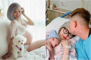 Em ruột ca sĩ Quang Vinh bất ngờ khoe ảnh hạnh phúc bên chồng cơ trưởng và con gái đầu lòng
