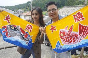 Lê Chi 'Học viện siêu sao' kéo lưới, bổ củi tại Nhật Bản
