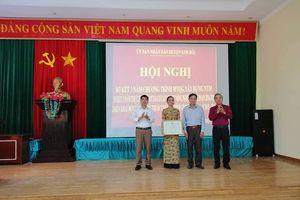 Kim Bôi (Hòa Bình): Chú trọng bảo vệ môi trường trong xây dựng nông thôn mới