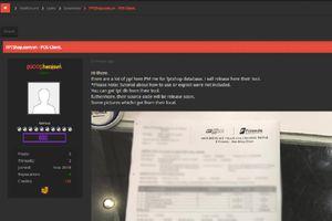 Sau Thế giới Di động, hacker công bố dữ liệu khách hàng FPTShop?