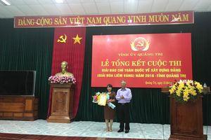 Quảng Trị: Tổng kết và trao giải Búa Liềm vàng 2018