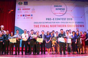 Sinh viên thi tài 'Olympic tiếng Anh không chuyên toàn quốc'