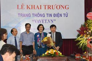 Ra mắt trang thông tin điện tử vavet.vn
