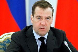 Thủ tướng Nga Medvedev sắp thăm chính thức Việt Nam