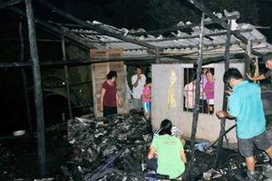 Bé gái bại liệt ở nhà một mình tử vong thương tâm do cháy nhà