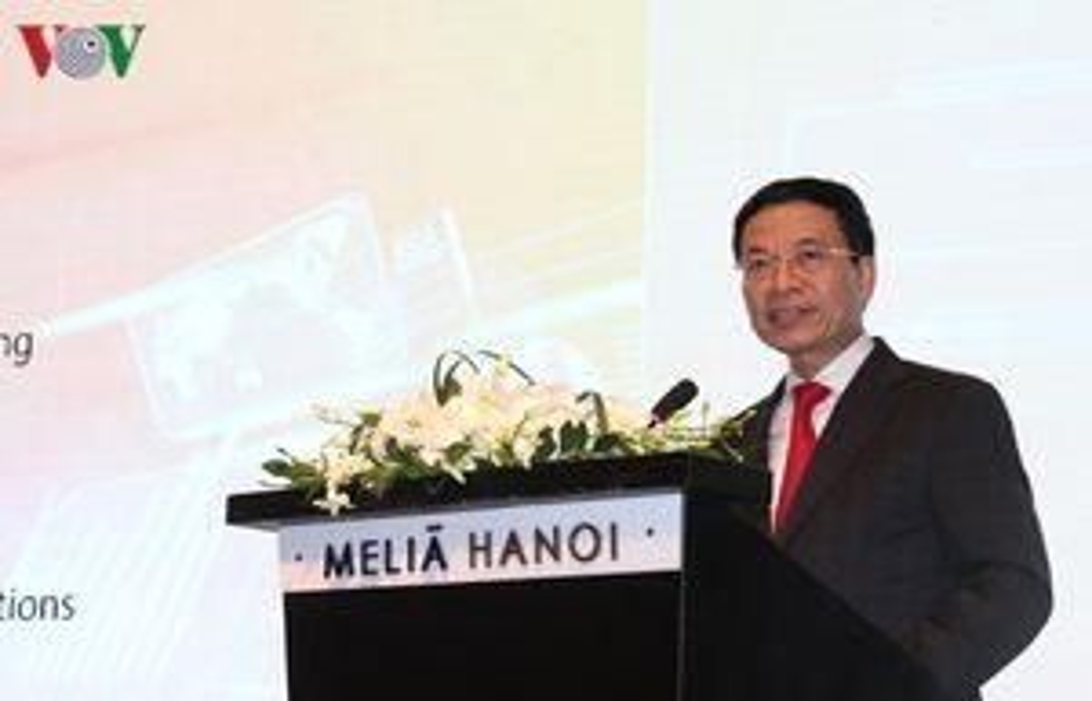 Bộ trưởng TT&TT: VN phải là nước thứ 5 xuất khẩu thiết bị viễn thông