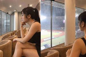 Dân mạng truy tìm fan nữ ngồi phòng VIP xem AFF Cup