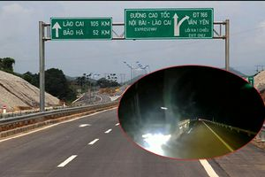 Triệu tập tài xế máu lạnh lao ô tô ngược chiều trên cao tốc Hà Nội – Lào Cai