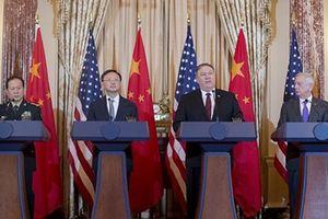 Căng thẳng Mỹ - Trung tạm dừng trước 'giới hạn đỏ'