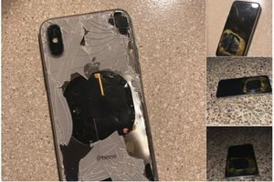 iPhone X phát nổ khi đang cập nhật iOS 12.1?