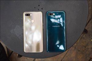 Oppo giới thiệu A7, smartphone camera kép, màn hình giọt nước, giá bán 5,99 triệu đồng