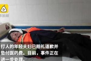 Ngăn trẻ 'vệ sinh' ở công viên, nữ lao công bị đánh nhập viện