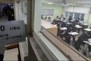 Gần 600.000 học sinh Hàn Quốc bước vào 'đấu trường sinh tử'