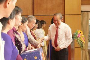 Phó Thủ tướng Thường trực Trương Hòa Bình dự Ngày hội Đại đoàn kết toàn dân tộc tại phường Trần Hưng Đạo