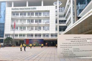 Phụ huynh 'tố' Trường THCS Thanh Xuân phí chồng phí