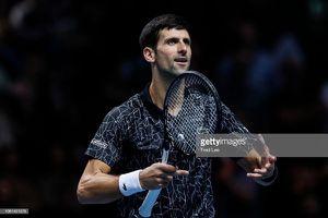 Vòng bảng ATP Finals: Djokovic thẳng tiến vào bán kết
