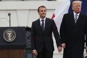 Bị ông Trump chỉ trích trên Twitter, ông Macron nói cao thượng