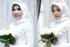 Hôn phu tử nạn do máy bay Lion Air rơi, cô dâu vẫn làm đám cưới