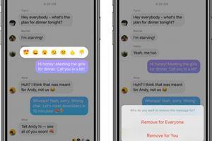 Facebook Messenger bắt đầu triển khai tùy chọn Unsend tin nhắn
